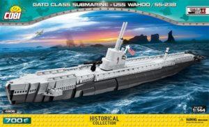 Cobi Gato Class Submarine - USS Wahoo C4806