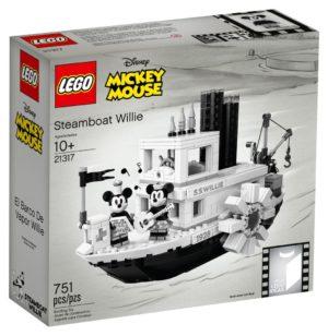 Lego 21317 Höyrylaiva Willie