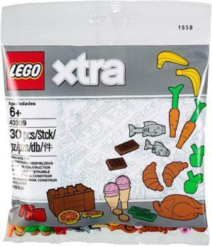Lego 40309 Xtra Ruoka Tarvikkeita