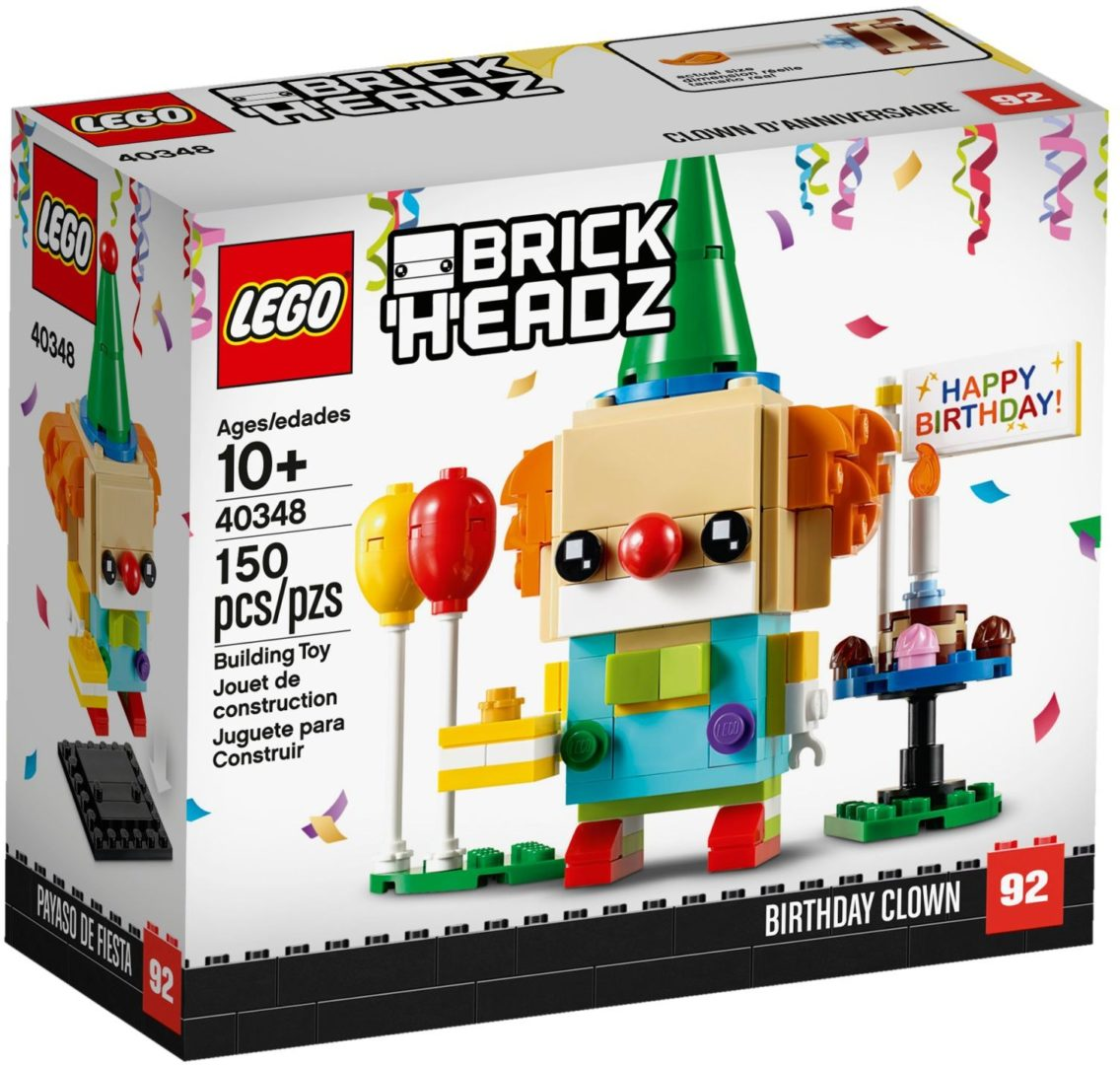 Lego BrickHeadz 40348 Birthday Clown