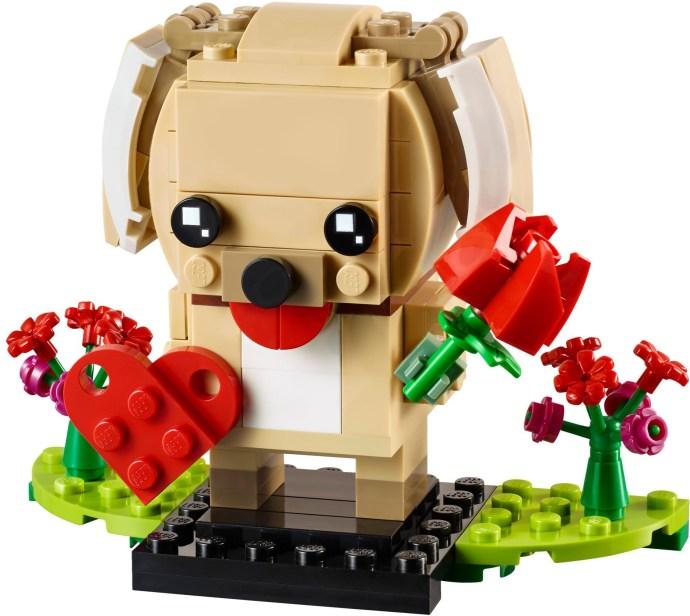 Lego BrickHeadz 40349 Valentine's Puppy