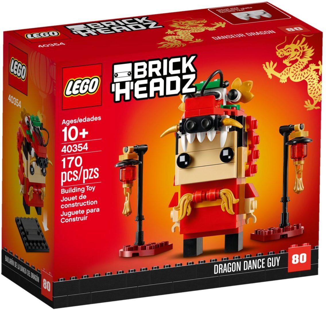 Lego BrickHeadz 40354 Dragon Dance Guy