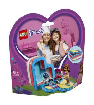 Lego Friends 41387 Olivian Kesäinen Sydänlaatikko
