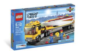 Lego City 4643 Pikavenekuljetus