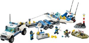 Lego City 60045 Poliisipartio