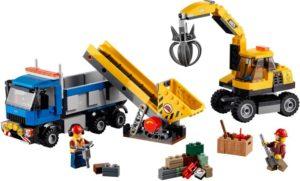 Lego City 60075 Kaivinkone ja Kuorma-auto
