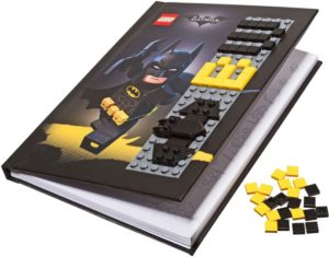 Lego Batman Movie 853649 Batman Notebook with Stud Cover