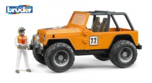Bruder 2542 Jeep Cross Country Oranssi