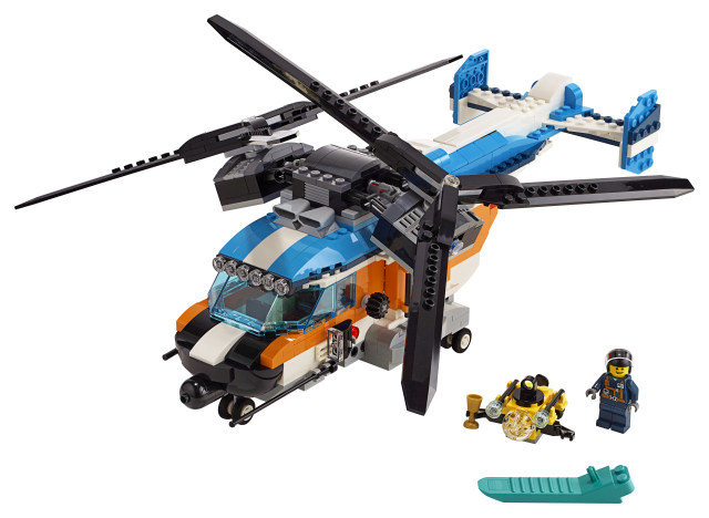 Lego Creator 31096 Kaksiroottorinen Helikopteri
