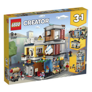 Lego Creator 31097 Rivitalon Eläinkauppa ja Kahvila