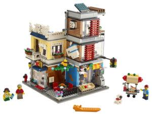 Lego Creator 31097 Rivitalon Eläinkauppa ja Kahvila