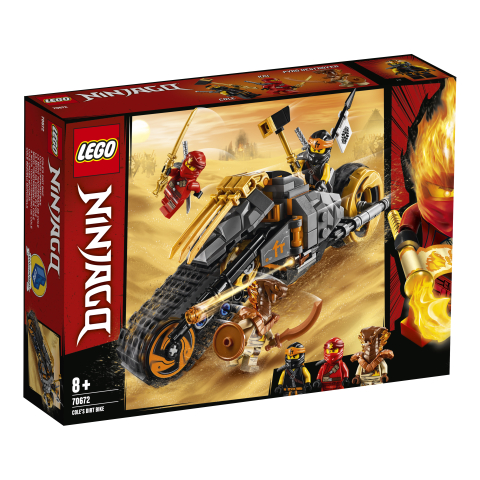 Lego Ninjago 70672 Colen Dirt Bike