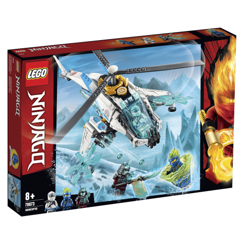 Lego Ninjago 70673 Shurikopteri
