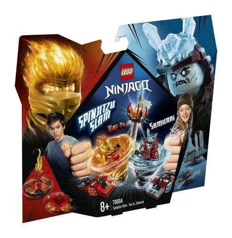 Lego Ninjago 70684 Spinjitzu-läimäys – Kai vastaan Samurai