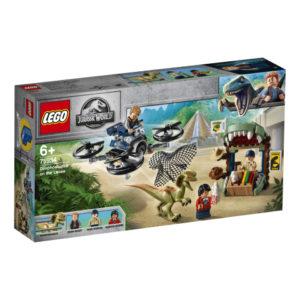Lego Jurassic World 75934 Dilophosaurus Karkuteillä