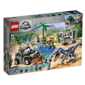 Lego Jurassic World 75935 Baryonyx-yhteenotto: Aarteenmetsästys