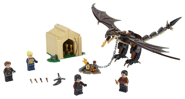 Lego Harry Potter 75946 Kolmivelhoturnajaishaaste Unkarilainen Sarvipyrstö