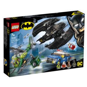 Lego Super Heroes 76120 Batman Batwing ja Arvuuttajan Ryöstö