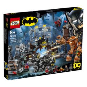 Lego Super Heroes 76122 Clayfacen Hyökkäys Lepakkoluolaan