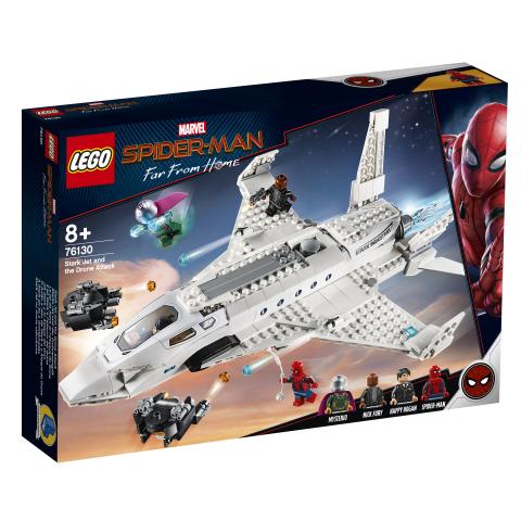 Lego Super Heroes 76130 Starkin Suihkari ja Lennokkihyökkäys
