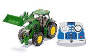 Siku 6795 John Deere 7310R Kauko-ohjattava Traktori Etukuormaajalla
