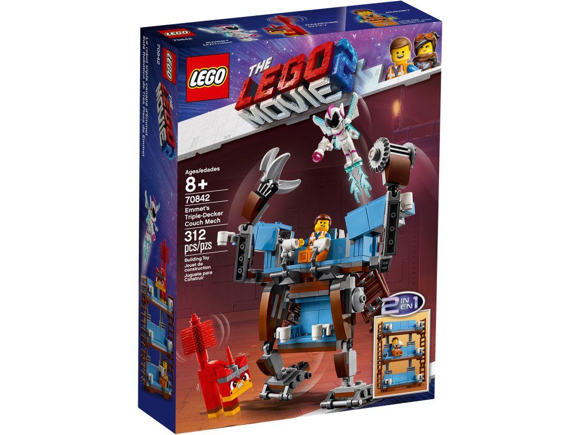Lego Movie 2 70842 Emmetin Kolmekerrossohvarobotti