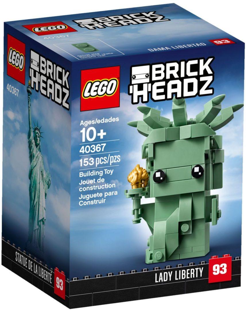 Lego BrickHeadz 40367 Lady Liberty