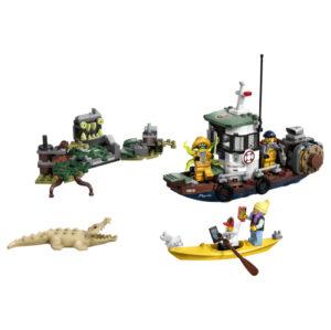 Lego Hidden Side 70419 Haaksirikkoutunut Katkarapuvene