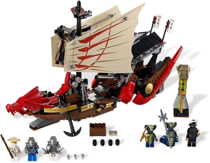 Lego Ninjago 9446 Kohtalon Alus