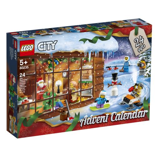 Lego City 60235 Joulukalenteri 2019