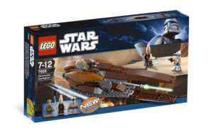 Lego Star Wars 7959 Geonosian Starfighter