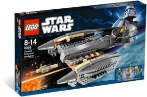 Lego Star Wars 8095 General Grievous' Starfighter - Käytetty