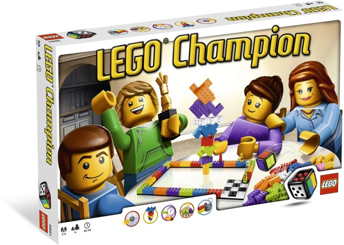 Lego Pelit 3861 Lego Champion