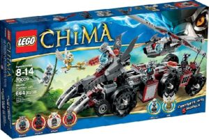 Lego Legends of Chima 70009 Worrizin Taistelumaja