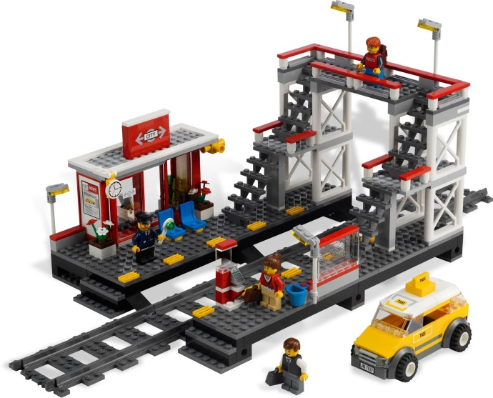 Lego City 7937 Rautatieasema – Käytetty