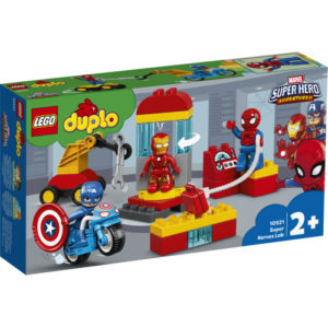 Lego Duplo 10921 Supersankarien Laboratorio