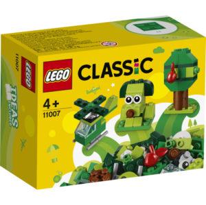 Lego Classic 11007 Luovat Vihreät Palikat