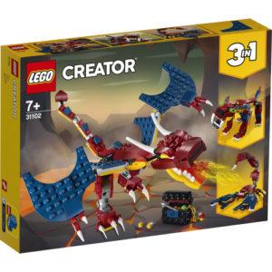 Lego Creator 31102 Tulilohikäärme