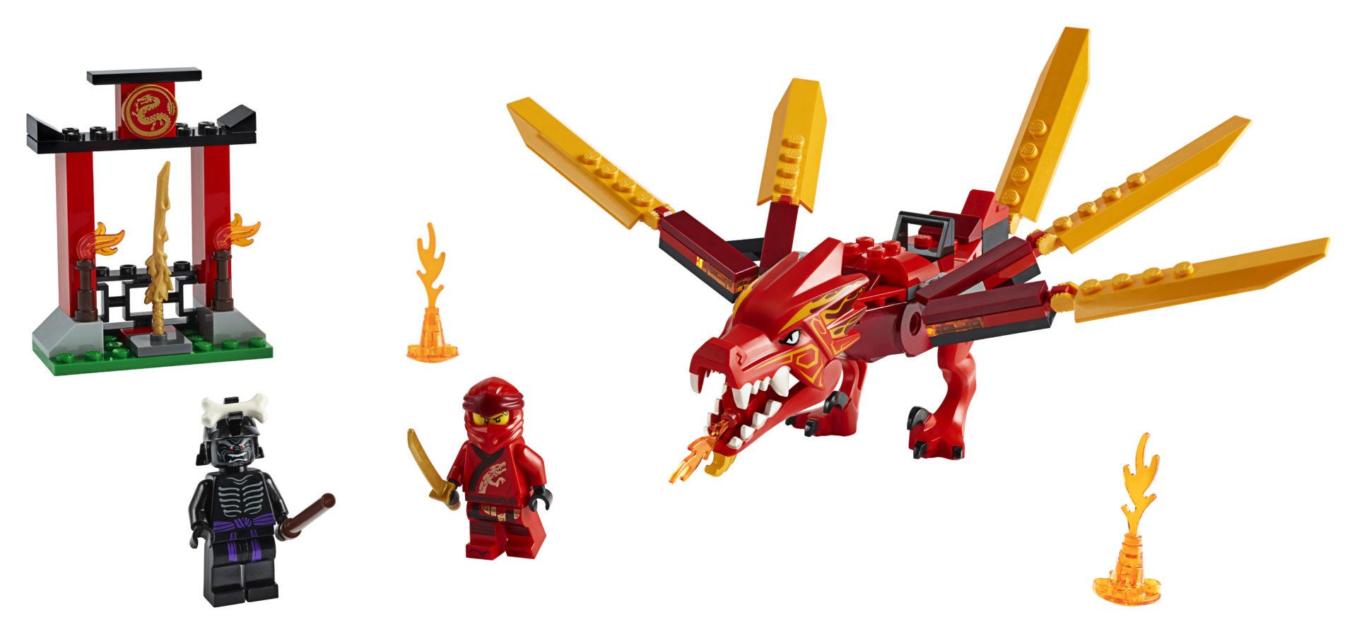 Lego Ninjago 71701 Kain Tulilohikäärme