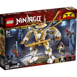 Lego Ninjago 71702 Kultainen Robotti