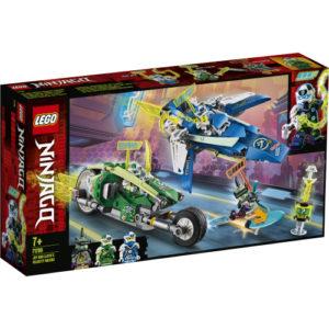 Lego Ninjago 71709 Jayn ja Lloydin Vauhtipelit