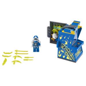 Lego Ninjago 71715 Jay-avatar Pelihallikapseli