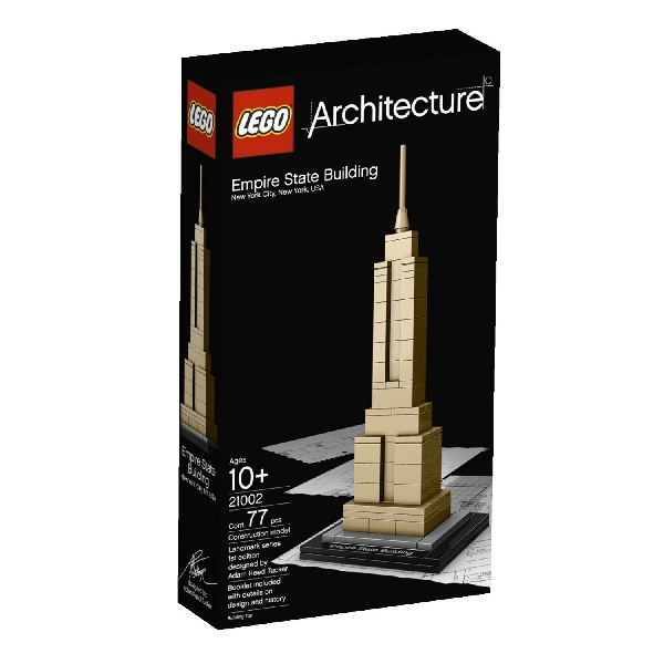 Lego Architecture 21002 Empire State Building - Käytetty