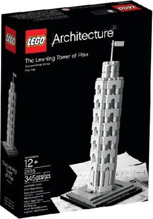 Lego Architecture 21015 Tower of Pisa – Käytetty