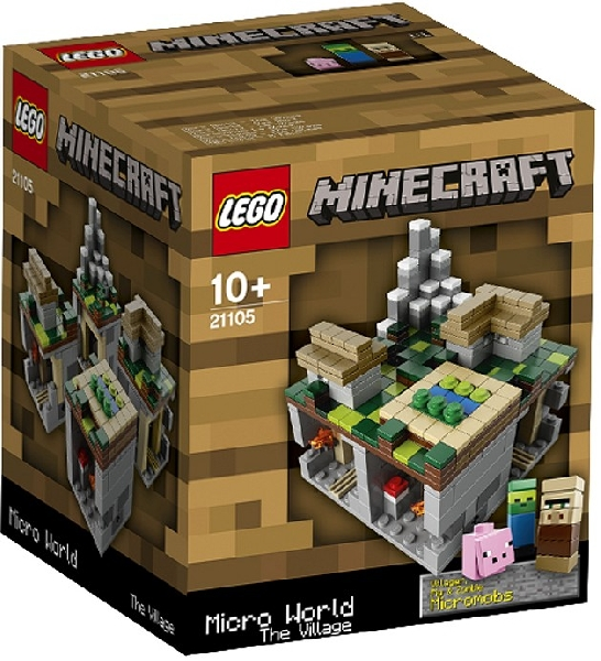 Lego 21105 Minecraft - The Village - Käytetty