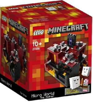 Lego 21106 Minecraft - The Nether - Käytetty