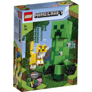 Lego Minecraft 21156 BigFig Creeper™ ja Oselotti