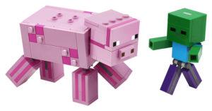 Lego Minecraft 21157 BigFig Possu ja Pikkuzombi