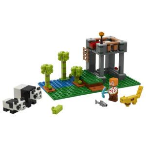 Lego Minecraft 21158 Pandahoitola