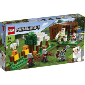 Lego Minecraft 21159 Pillagerien Linnake